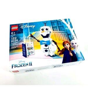 LEGO Disney Building Toy FROZEN 2 #41169 Olaf NIB